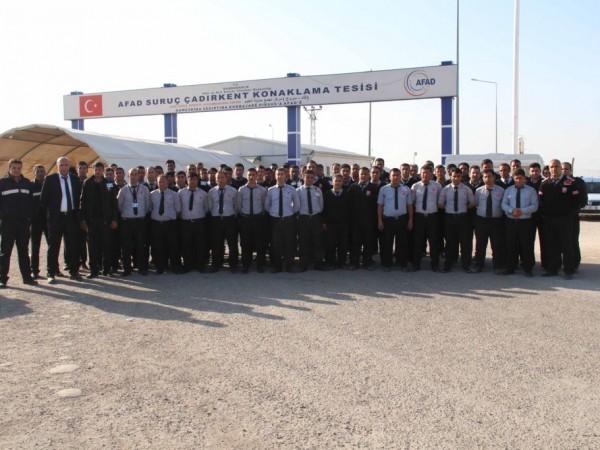 Suruç AFAD Çadır Kent Mülteci Konaklama Tesisleri Müdürlüğü Mart 2017